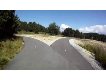 Piste de ski-roue de Font-Romeu