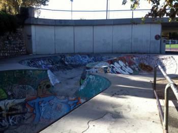 Skatepark / bowl d'Aubagne