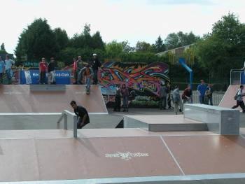 Skatepark de Hérouville-Saint-Clair