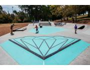 Diamond Supply Co Skate Plaza de Los Angeles