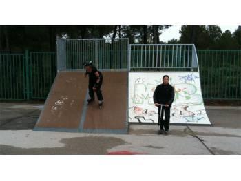 Skatepark de Saint-Mitre-les-Remparts