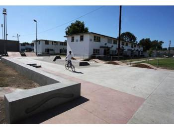 Nickerson Gardens Skatepark de Los Angeles