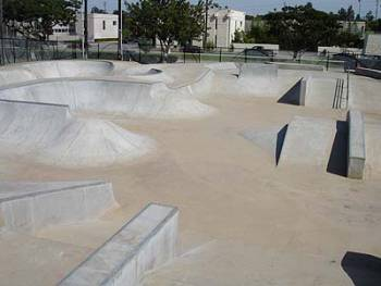 The Cove Skatepark de Santa Monica