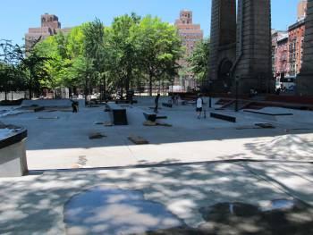 Manhattan Bridge skatepark