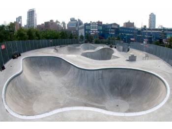 Pier 62 Hudson River Skatepark de New York