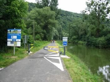 Voie verte de Besançon à Ranchot