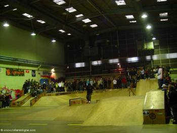 "Skatepark ""King of Wood"" de Rouen"