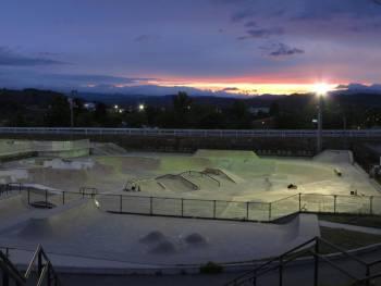 阿寒江スケートパーク_Akannko skatepark