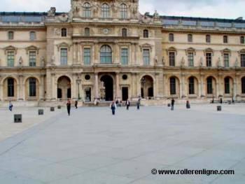 Cour du Louvre à Paris