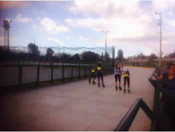 Piste de roller course de Quito
