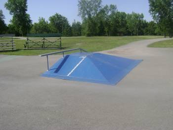 Skatepark de Laval - Parc de Lausanne