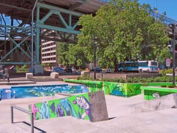 Skate Plaza de Montréal
