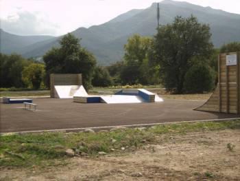 Skatepark de Sorède (photo : Newbee)