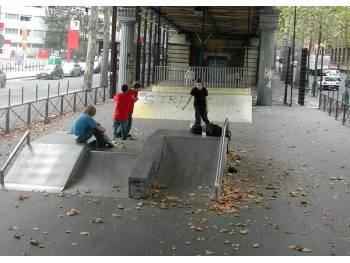 Skatepark Jaurès de Paris 10
