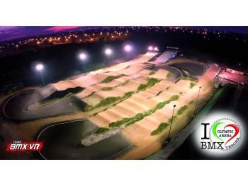 Piste Bmx race Olympic Arena Verona