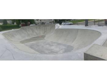 Skatepark d'Aurec-sur-Loire (photo : Skatepark Service Conseil)