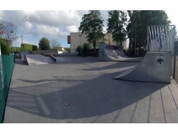 Skatepark du Stade Hélitas à Caen