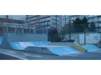 Skatepark Emile Lepeu de Paris 11