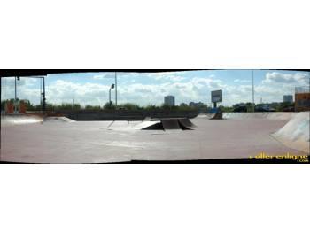 Skatepark de Bologne à Montpellier