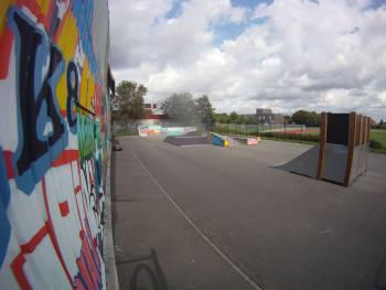 Skatepark de Hem (photo : L'Troll)