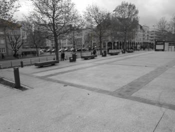 Esplanade du Théatre à Thionville