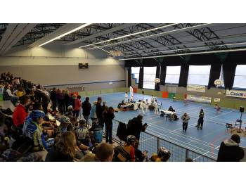 Hall des sports Marcel Cerdan d'Hericourt (photo : Cédric Evain)