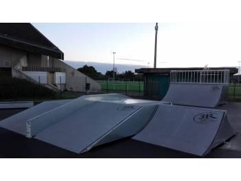 Skatepark de Pouligen (photo : Kepic)