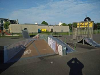 Skatepark de Tregunc (photo : Pingouin)