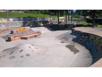 Skatepark de Saint-Gaudens (photo : Thibaud Nogues)