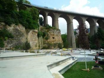 Le skatepark Peitruss de Luxembourg