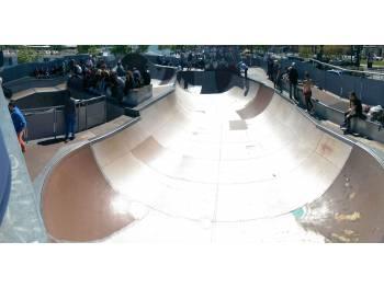 Skatepark du quai des Chartrons à Bordeaux