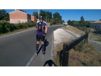 Voie vélocéan de Bordeaux à Lacanau