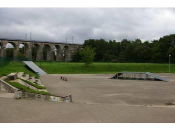 Skatepark de Dannemarie (photo : mairie)