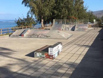 Skatepark de Saint-Leu (photo : Damien Lahaye)