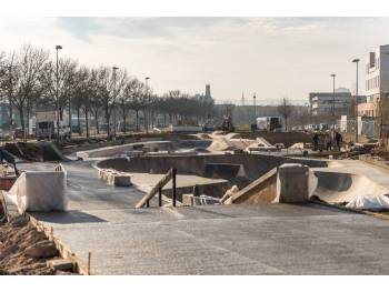 Skatepark de Nancy - rives de Meurthe