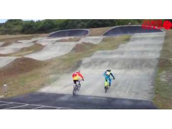 Piste de BMX race de la Turballe (photo : Ouest France)