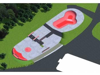 Le futur skatepark de Gouesnou (Merci à la mairie pour la photo)