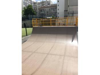 Skatepark Emile Lepeu à Paris