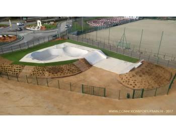Skatepark de Villeneuve-Loubet (photo : Connexion Sport Urbain)
