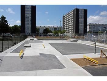 Skatepark Balzac à Saint-Brieuc