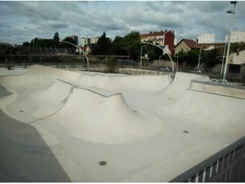 Skatepark de Nanterre - Parc Hoche