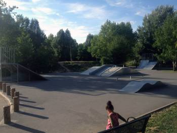 Skatepark de Yerres (Merci à Julie)
