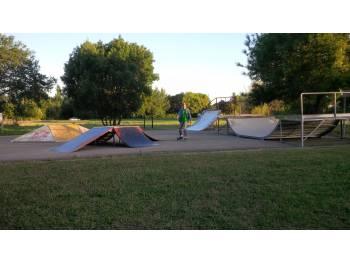 Skatepark de Saint Privat des vieux