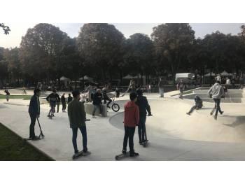 Skatepark du Jard à Chalons en Champagne