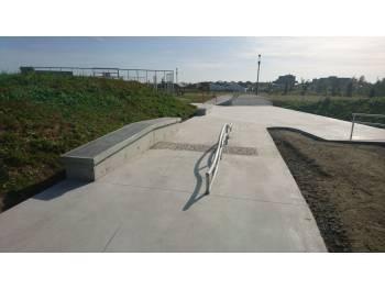 Skatepark de la minais à Sainte Luce sur Loire
