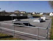 Skatepark de Rochefort-sur-Nenon (photo : Vincent Buin)