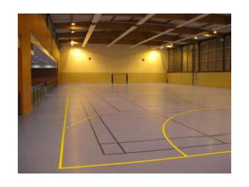 Gymnase du Millénaire à Epinay-sur-Orge