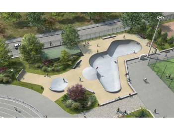 Skatepark bowl de la Muette Paris 16