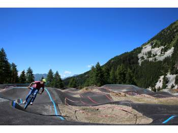Pumptrack de La Plagne