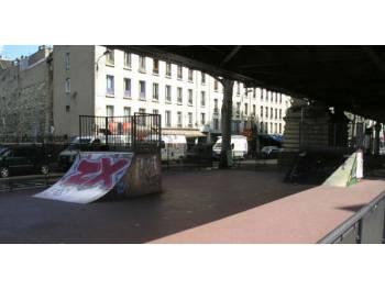 Skatepark de la Chapelle à Paris (75)